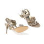 Authentic Second Hand Albano Embellished Strap Sandals (PSS-200-00264) - Thumbnail 4