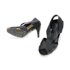 Pedro garcia mid heel slingback velcro sandal 2