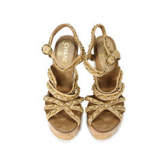 Chainlink Platform Cork Sandals