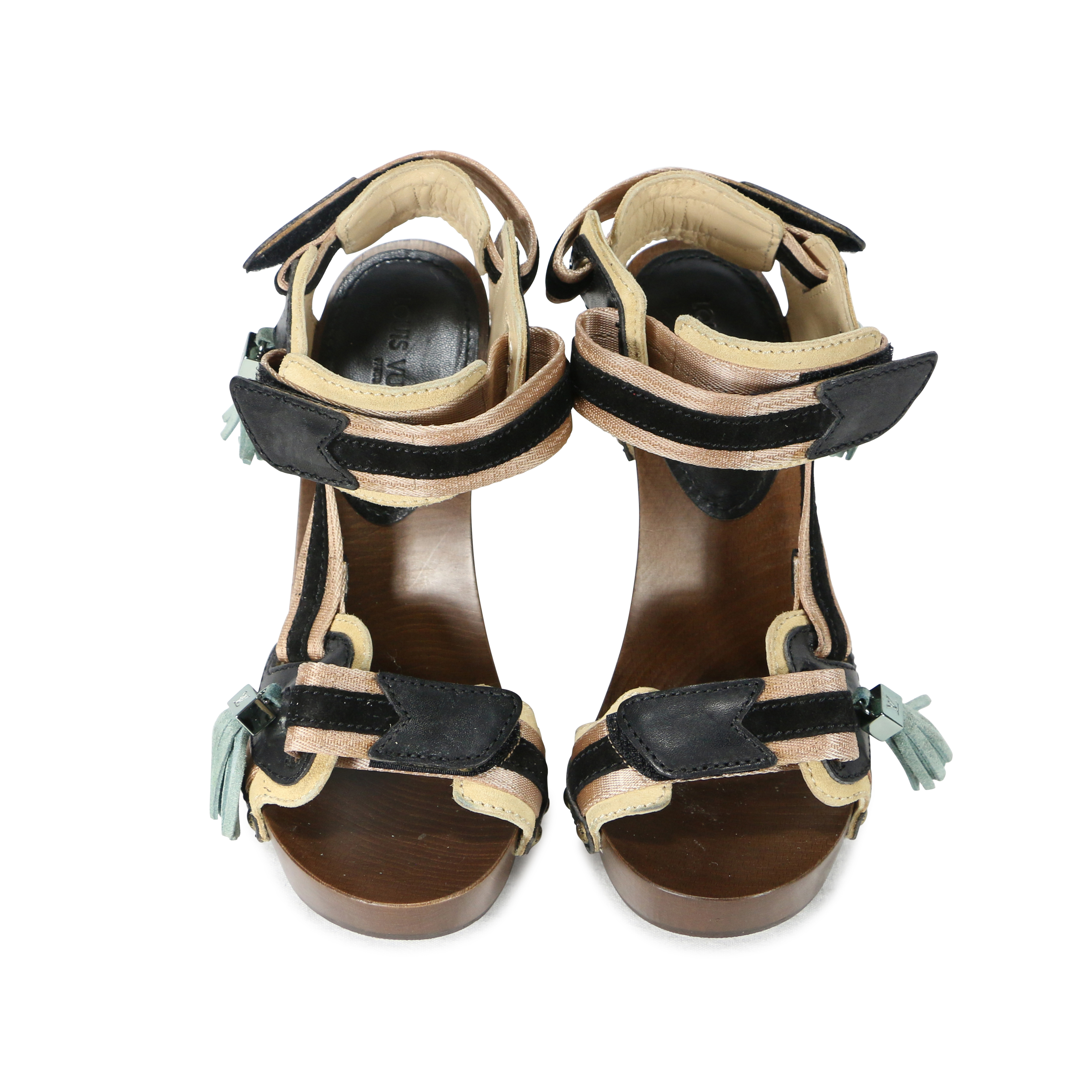 88413c3bf7bb Authentic Second Hand Louis Vuitton Rosa Sandals (PSS-200-00269 ...