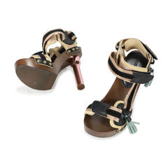 Louis vuitton rosa sandals 2
