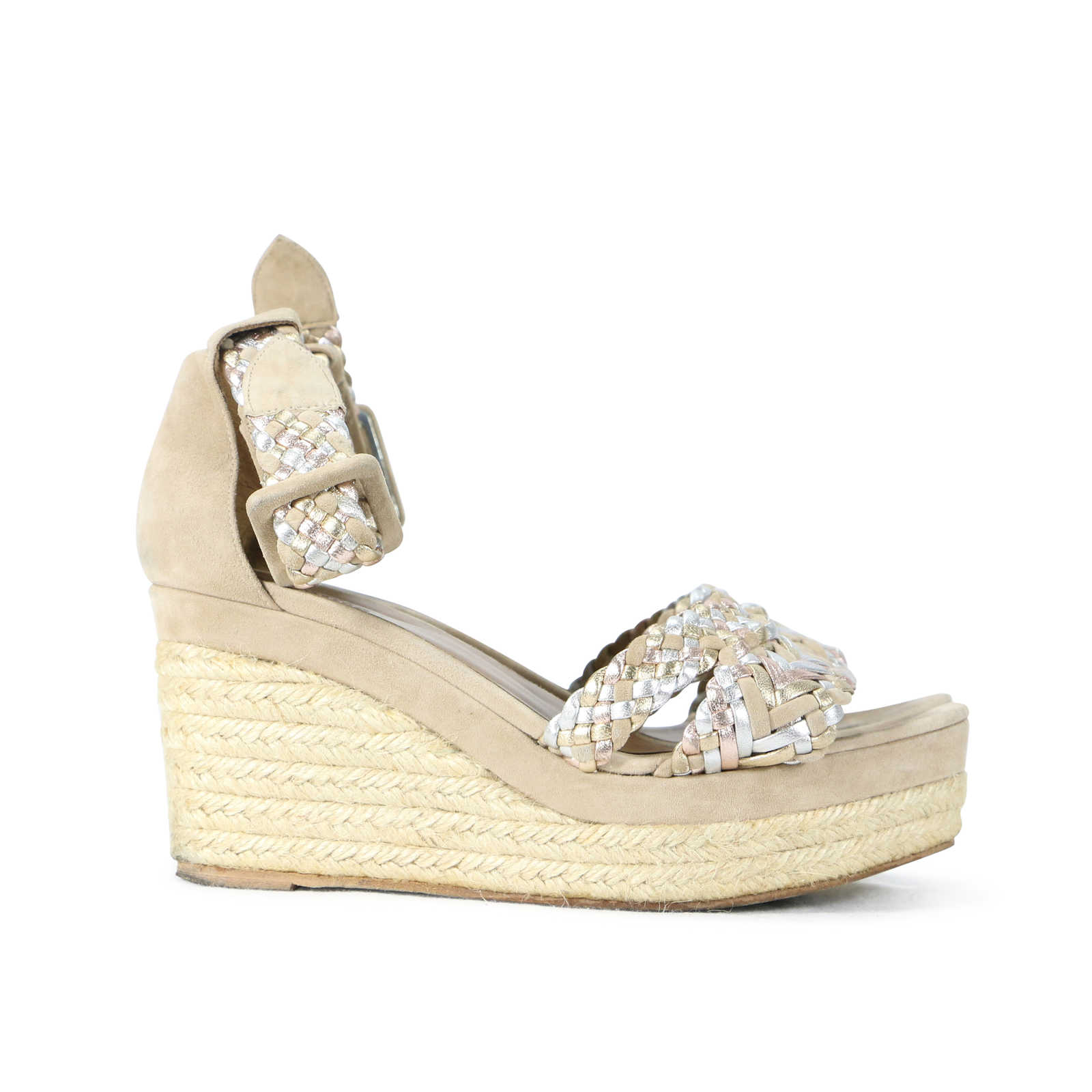 buy cheap perfect Hermès Braided Espadrille Wedge Sandals visa payment online newest sale online discount nicekicks 3NuYydJ