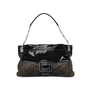 Authentic Second Hand Roger Vivier Suede and Patent Shoulder Bag (PSS-276-00003) - Thumbnail 0