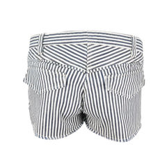 Isabel marant tie front striped shorts 2
