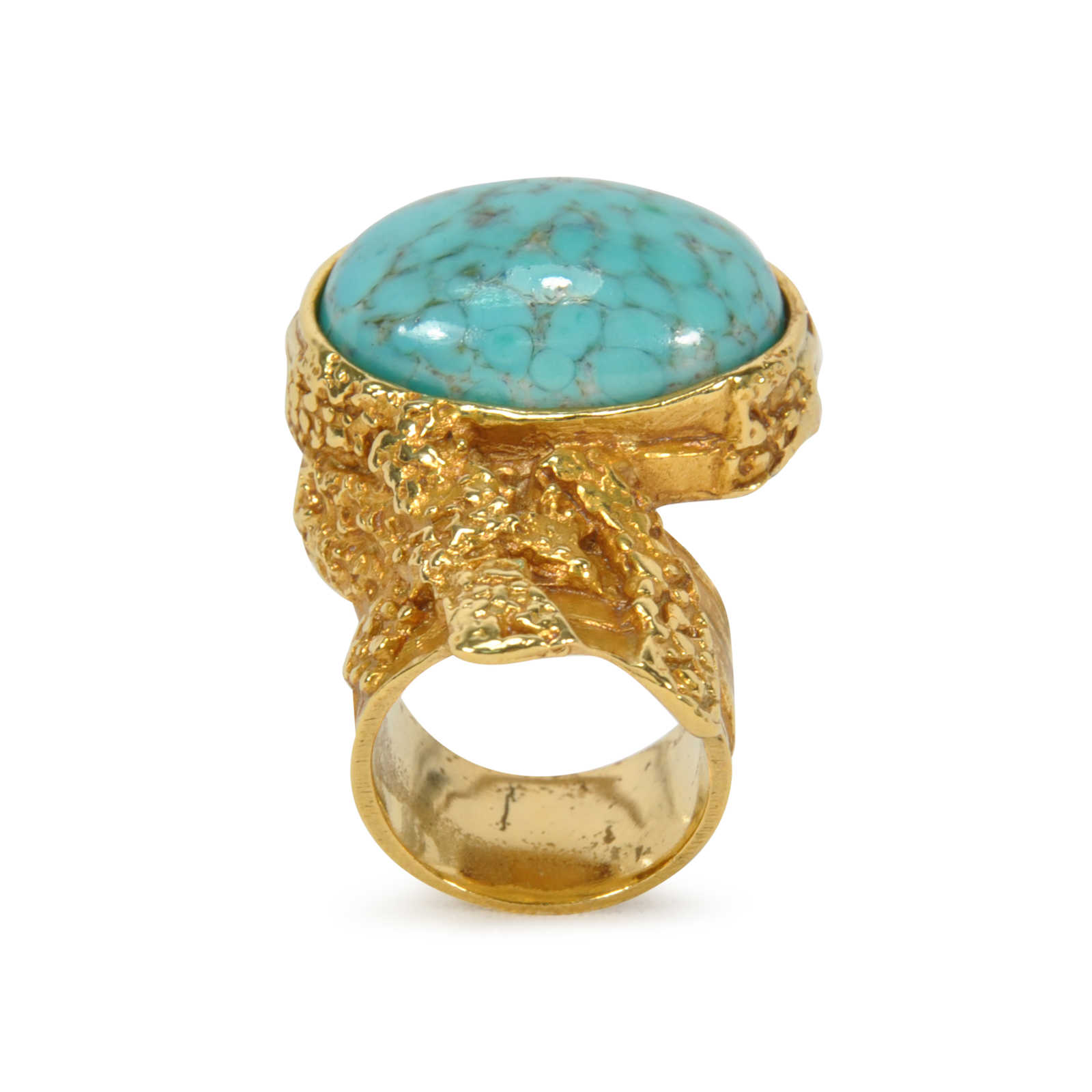 Second Hand Yves Saint Laurent Arty Oval Ring Pss 260 ...