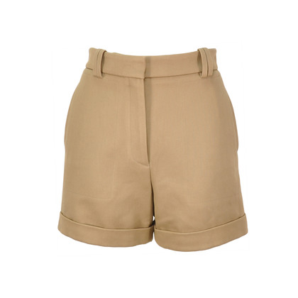 Authentic Second Hand Stella McCartney Cuffed High Waisted Shorts (PSS-193-00062)