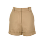 Authentic Second Hand Stella McCartney Cuffed High Waisted Shorts (PSS-193-00062) - Thumbnail 0