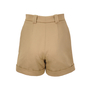Authentic Second Hand Stella McCartney Cuffed High Waisted Shorts (PSS-193-00062) - Thumbnail 1