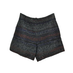 Interwoven Tweed Shorts