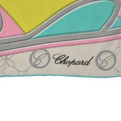 Chopard beige monogram scarf 2
