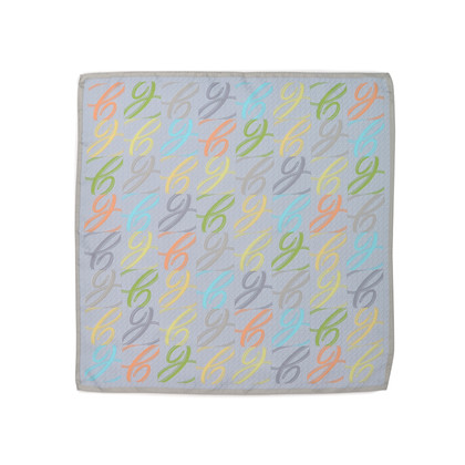 Authentic Second Hand Chopard Multicolour Logo Square Scarf (PSS-265-00023)