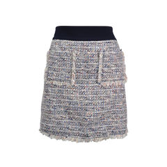 Double Pocket Tweed Skirt