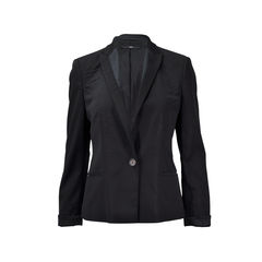 Cuff Button Detail Blazer