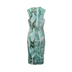 Just cavalli green snakeskin dress 2