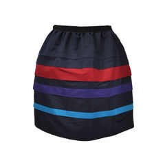 Striped Lantern Skirt