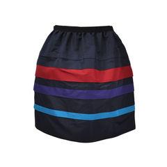 Striped Lantern Skirt
