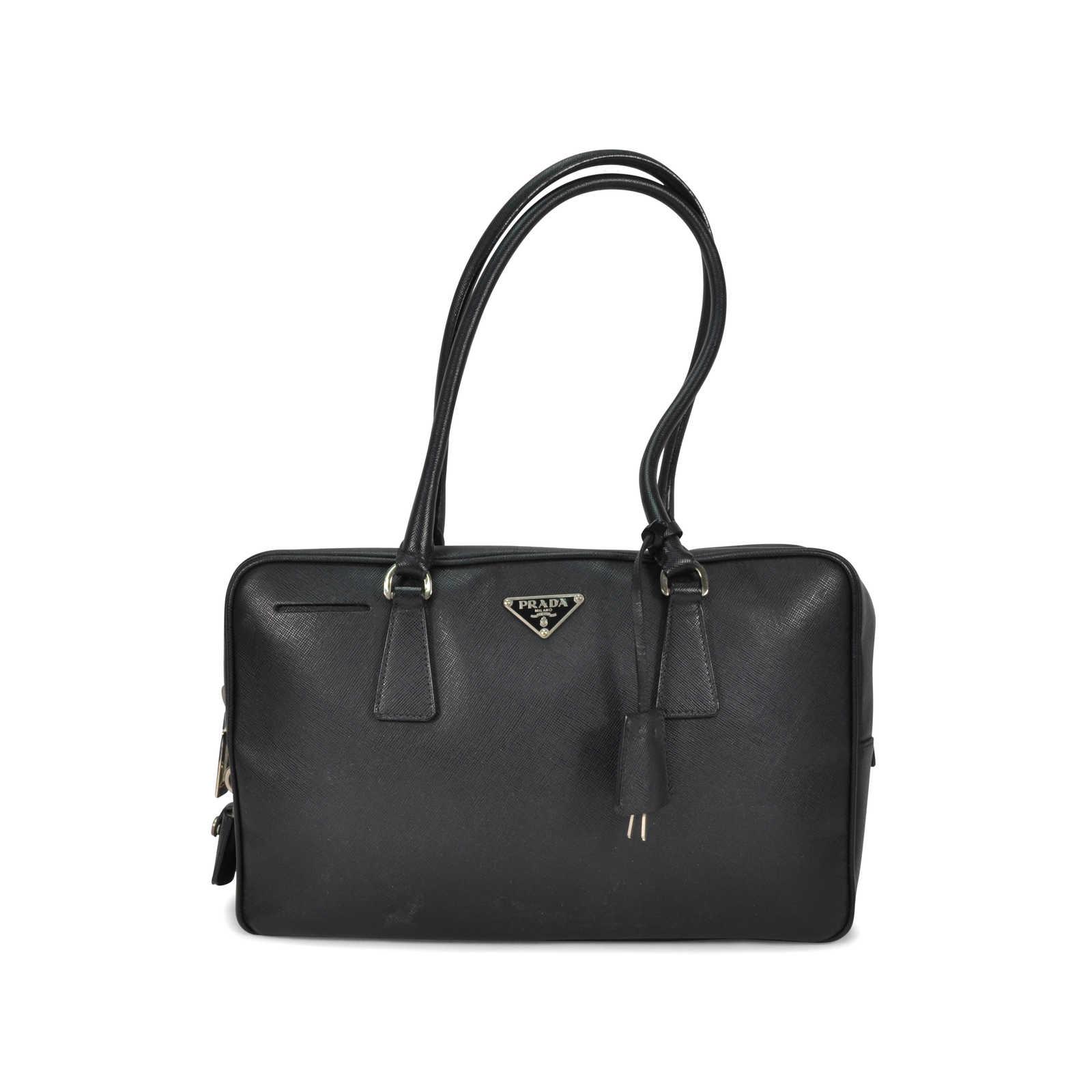 817dcc4dd60f Authentic Second Hand Prada Saffiano Shoulder Bag (PSS-279-00005) -  Thumbnail ...