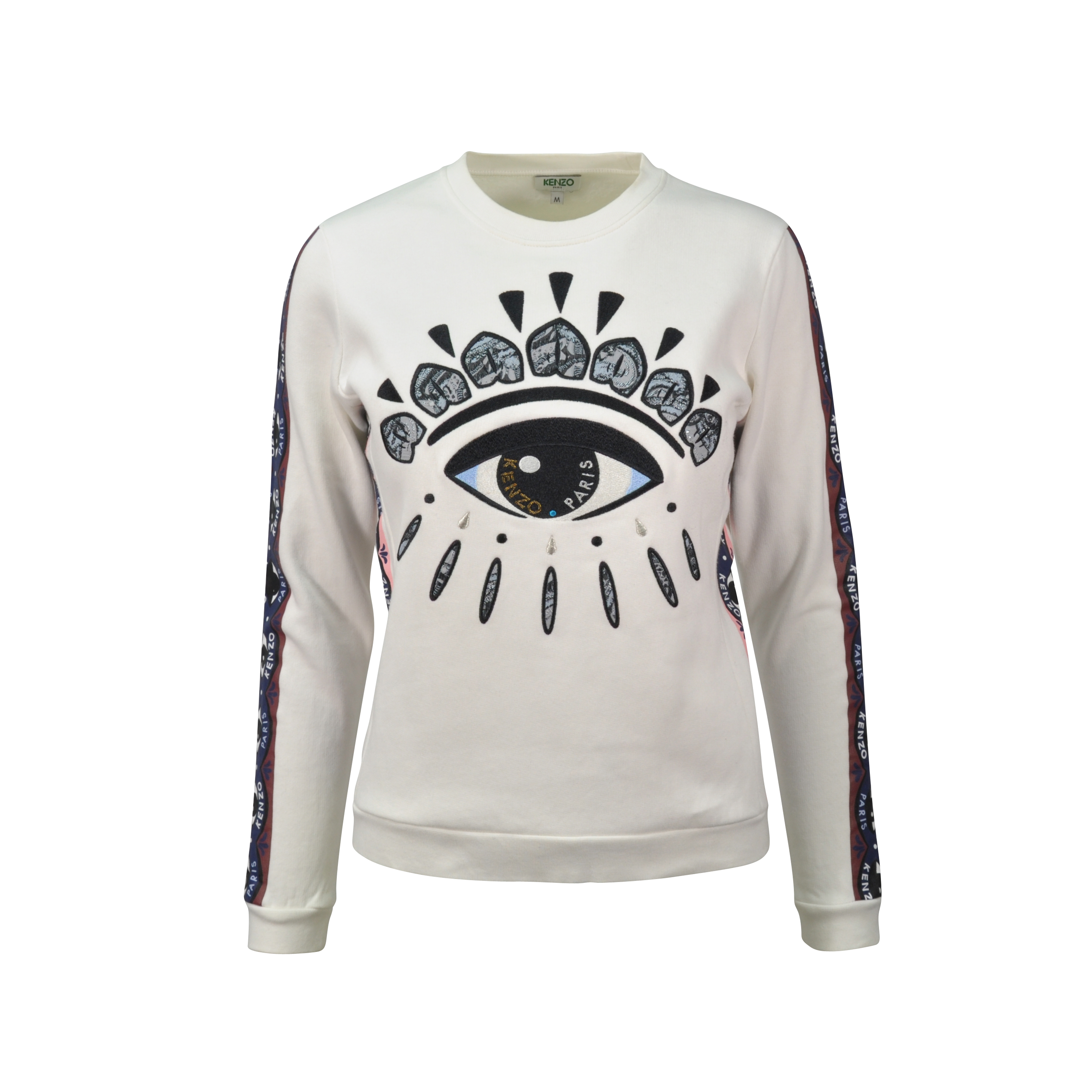 4eb41420 Authentic Second Hand Kenzo Eye Lotus Sweatshirt (PSS-197-00019) | THE  FIFTH COLLECTION