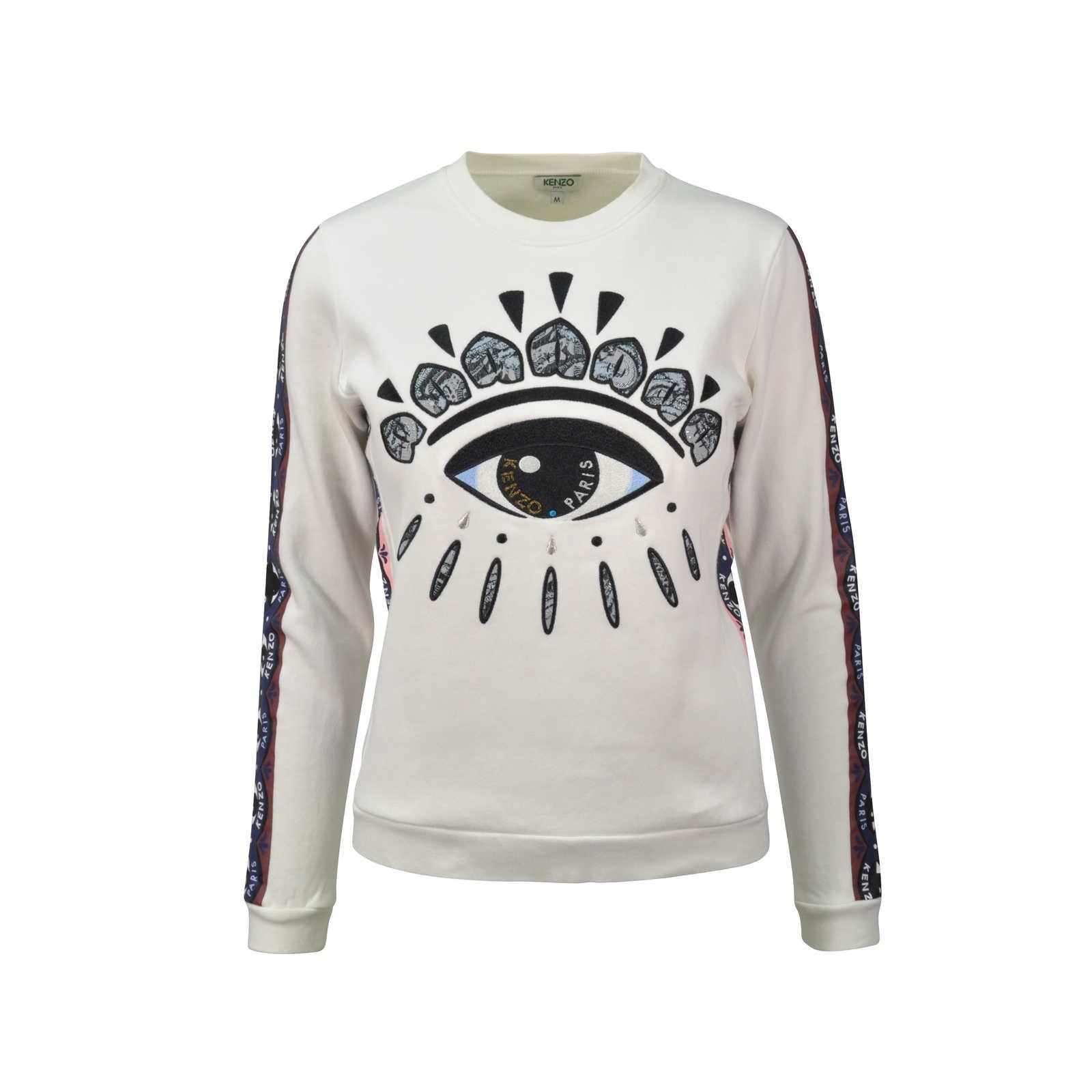 Second Hand Kenzo Eye Lotus Sweatshirt The Fifth Collection