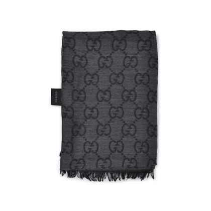Gucci Monogram Wool Blend Stole