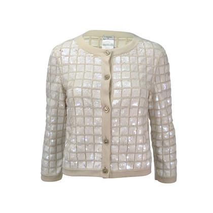 Chanel Sequin Square Cardigan