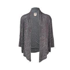 Sequin Embellished Cardigan