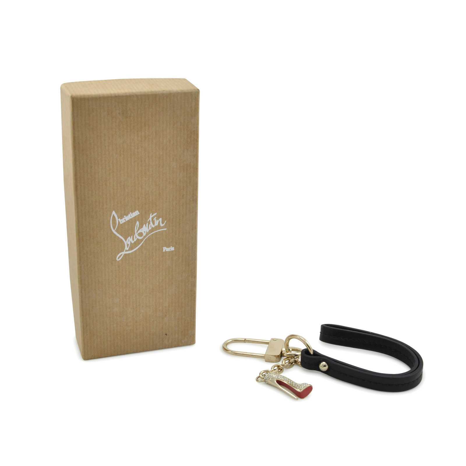 Authentic Second Hand Christian Louboutin Pigalle Keychain Pss 284