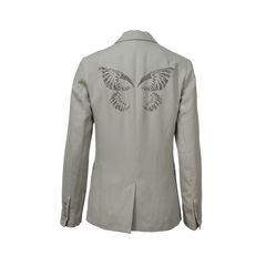Zadig voltaire butterfly rhinestone embellished blazer 2