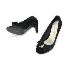 243747a290a Authentic Second Hand Chanel Mary Jane Pumps (PSS-466-00013)