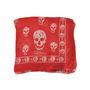 Alexander Mcqueen Skull Scarf Red - Thumbnail 0