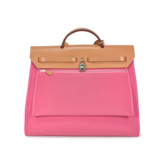 Hermes pink herbag zip mm 2