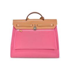 Hermes pink herbag zip mm 2