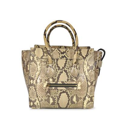 Celine Python Micro Luggage Bag