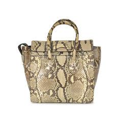 Celine micro luggage bag animal 2