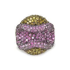 Pink Lip Yellow Ring