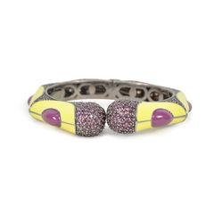 Embellished Enamel Bracelet