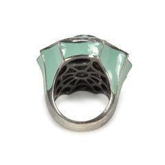 Tippy matthew web purple embellished ring 2