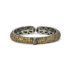 Tippy matthew yellow crystal embellished bracelet 2