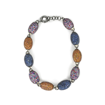 Matthew Campbell Laurenza Multicolour Egg Necklace