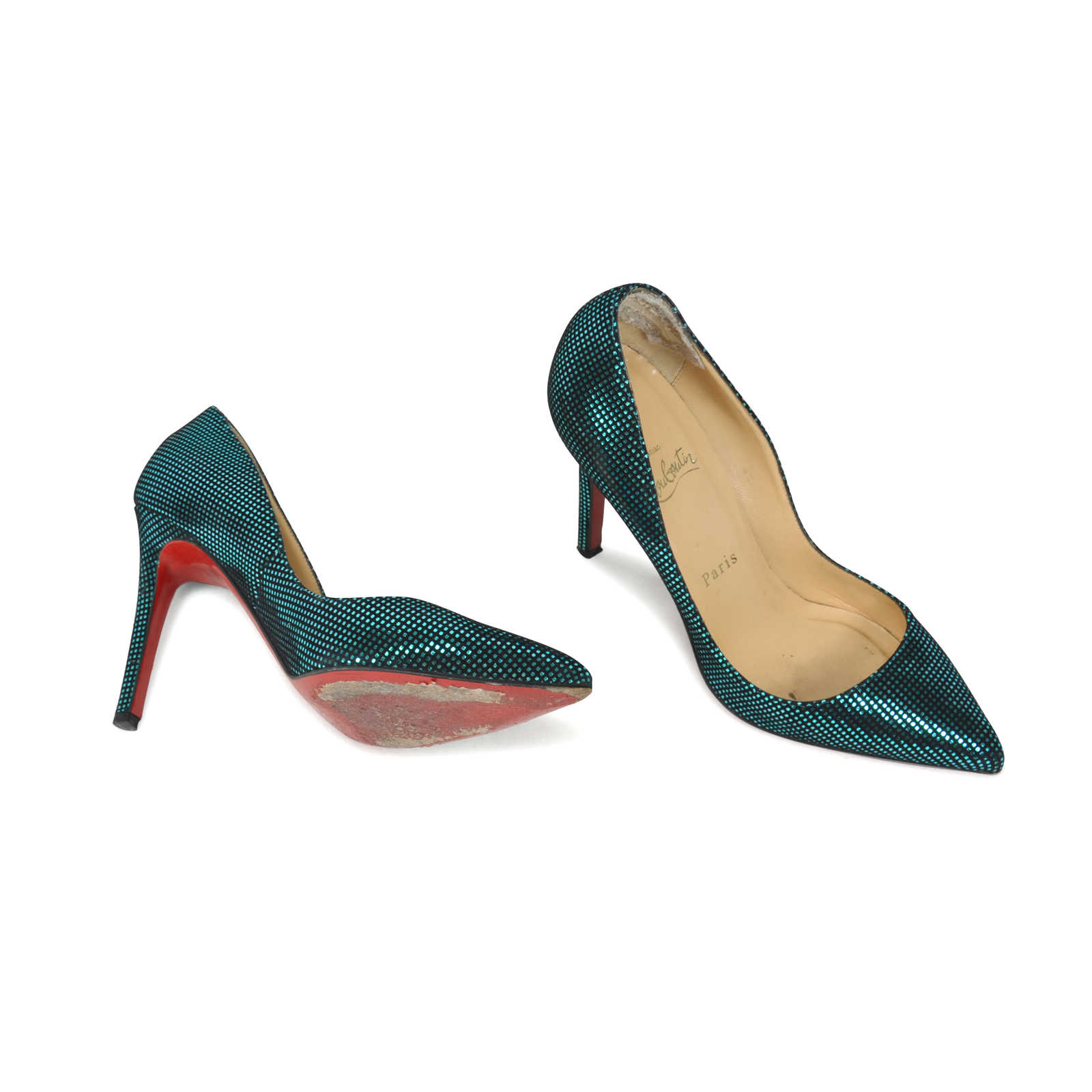 timeless design b969b e1350 Authentic Second Hand Christian Louboutin Pigalle 100 Suede ...