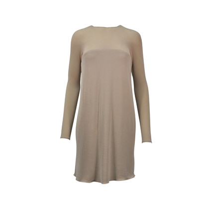 Authentic Second Hand Donna Karan Sheer Stretch Shift Dress (PSS-047-00121)