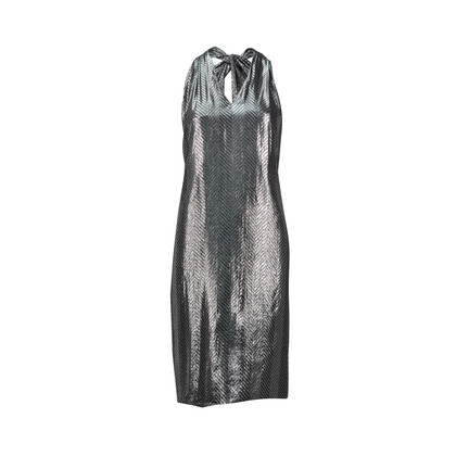 Authentic Second Hand Tita Rossi Draped Lamé Dress (PSS-047-00147)