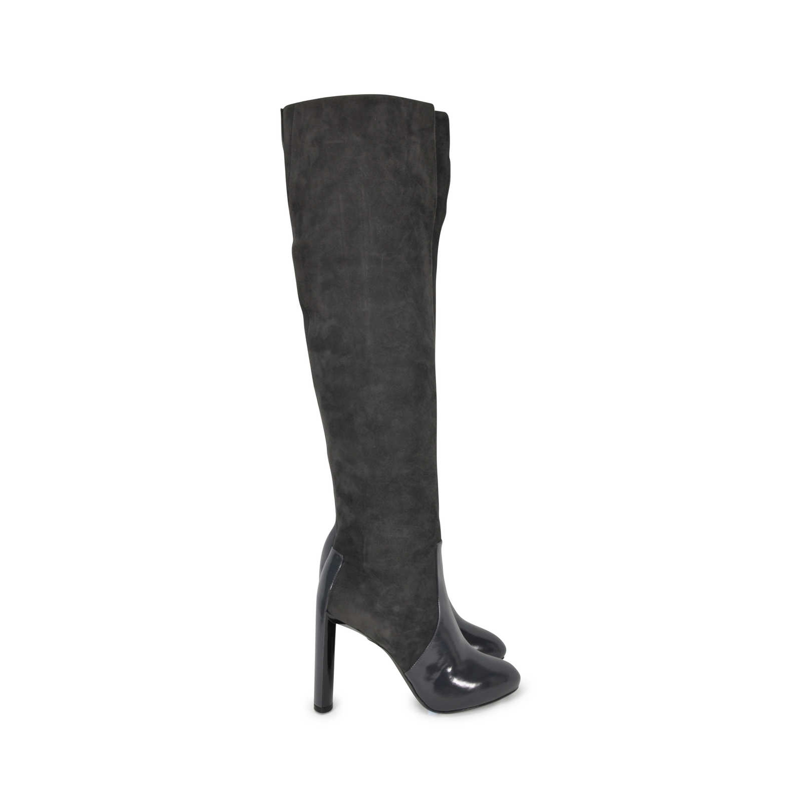 Authentic Second Hand Céline Thigh High Suede Boots (PSS 200