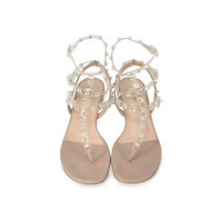 Rockstud Naked Ankle Wrap Sandals