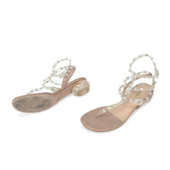 Valentino rockstud naked ankle wrap sandals 2