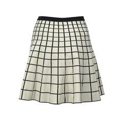 Ohne titel ohne titel grid knit reversible stretch skirt 2