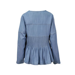 Sass and bide the triple turn denim blouse 2