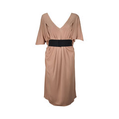 V- neck Midi Dress