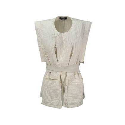 Isabel Marant Belted Cotton Wrap Vest
