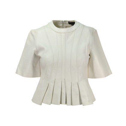 Authentic Second Hand Alexander Wang Leather Peplum Top (PSS-143-00095)